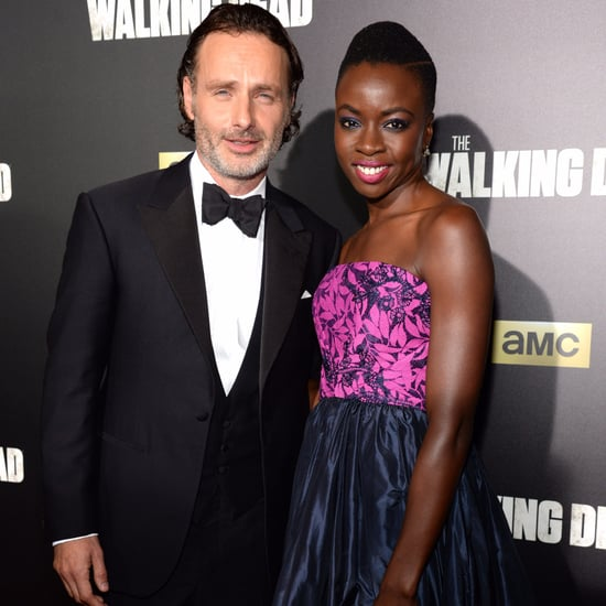 Andrew Lincoln and Danai Gurira Pictures