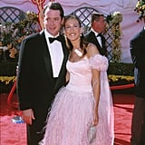 A nominated Sarah Jessica Parker had husband, Matthew Broderick, on hand for the 2000 Emmys.