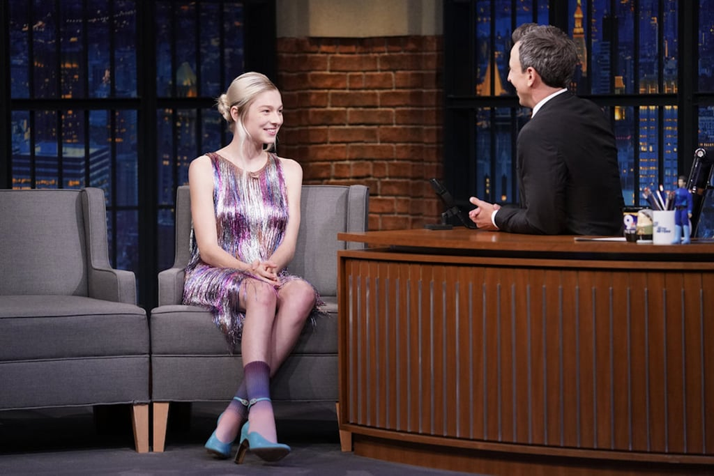 Hunter Schafer on Late Night With Seth Meyers