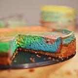 Pastel Tie-Dye Cheesecake