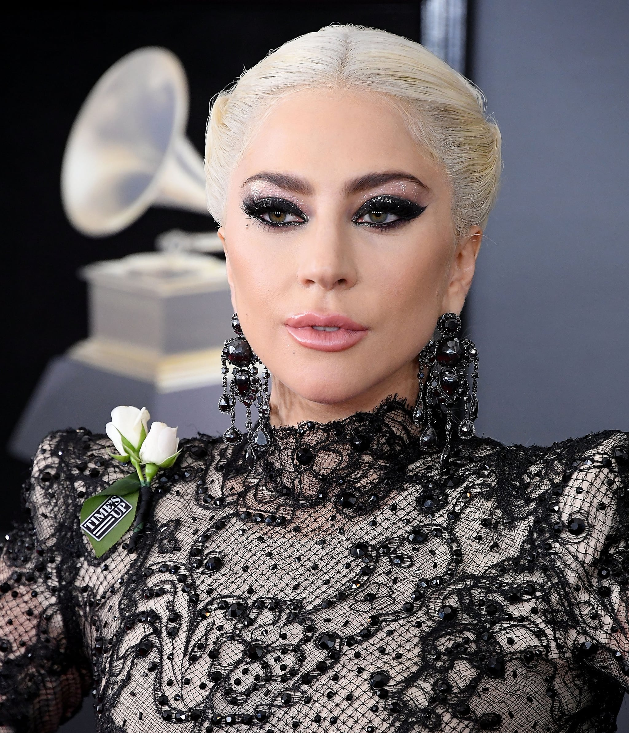 NEW YORK, NY - JANUARY 28:  Lady Gaga arrives at the 60th Annual GRAMMY Awards at Madison Square Garden on January 28, 2018 in New York City.  (Photo by Steve Granitz/WireImage)
