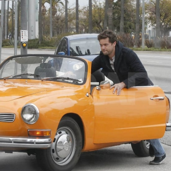 Joshua Jackson and Diane Kruger Car Trouble in LA Pictures