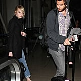 Andrew Arrives in LA With Emma and Gets to Work on Spider-Man's Sequel
