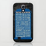 Whovians, name all the Doctor-isms on this amazing TARDIS ($35) case!