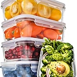 5-Pack Glass Meal Prep Containers
