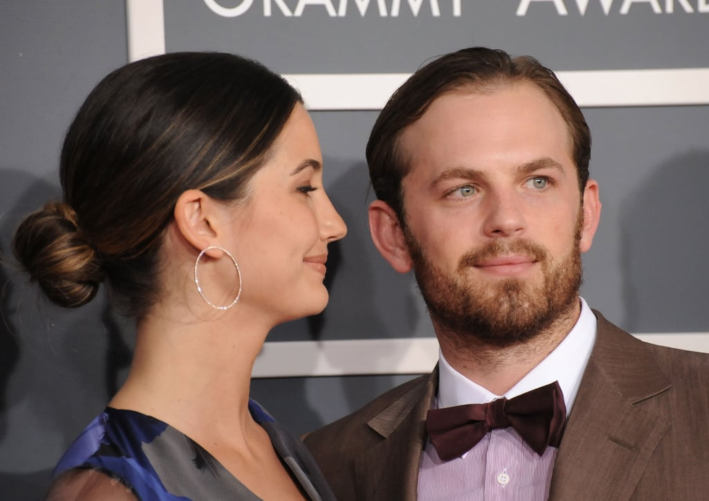 Caleb Followill Receives A Loving Look From Wife Lily