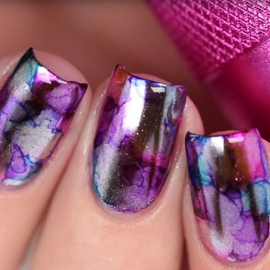 Mirror Nail Art Tutorial