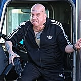 Paul Giamatti took on the villainous character The Rhino for The Amazing Spider-Man 2 in NYC on Monday.