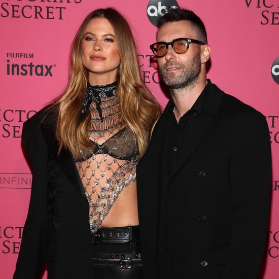 Adam Levine at the 2018 Victoria's Secret Fashion Show