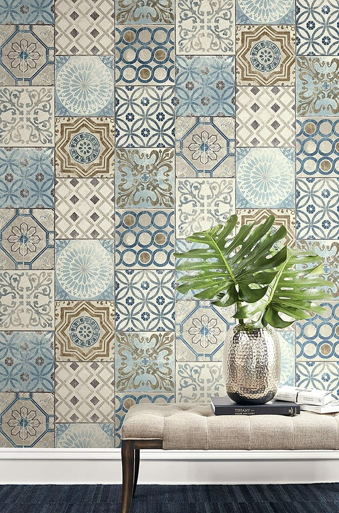 Wallquest Moroccan Style Mosaic Wallpaper