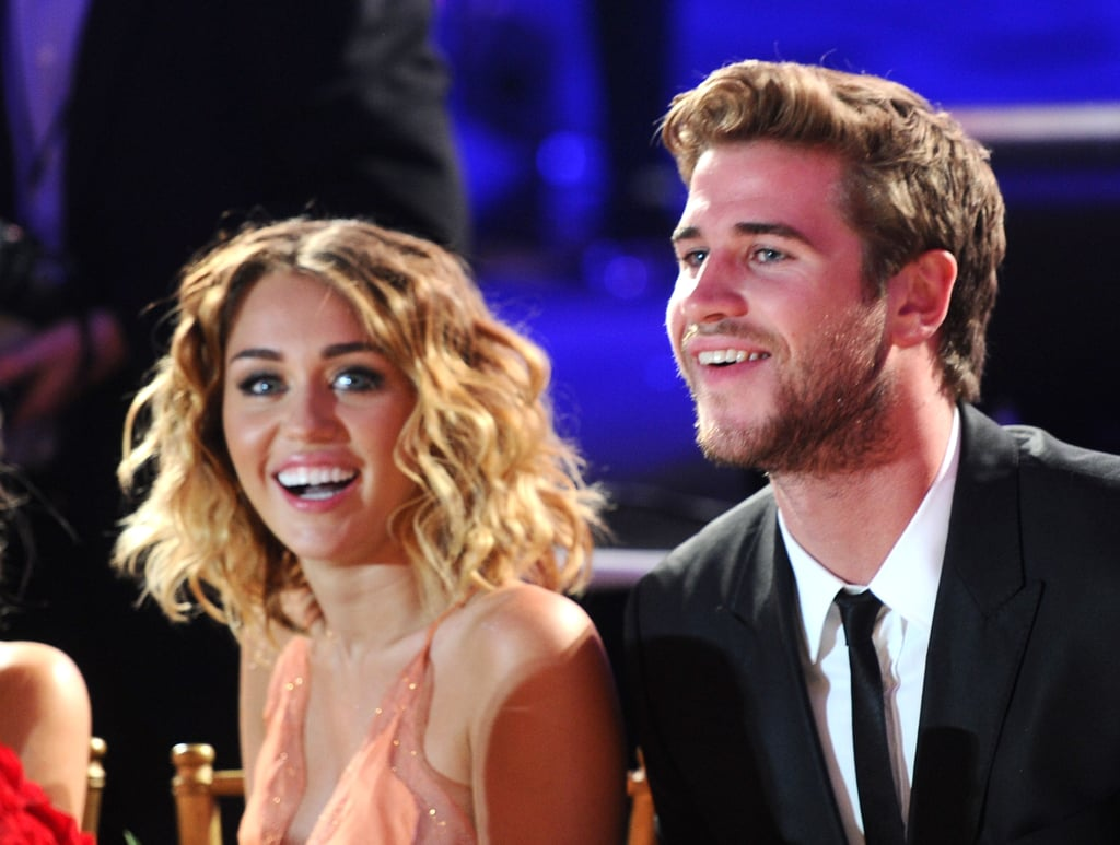 Engagment Rumours Surround Miley Cyrus and Liam Hemsworth While She Debuts a Large Diamond Ring