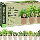 9 Herb Window Garden Indoor Organic Herb Growing Kit
