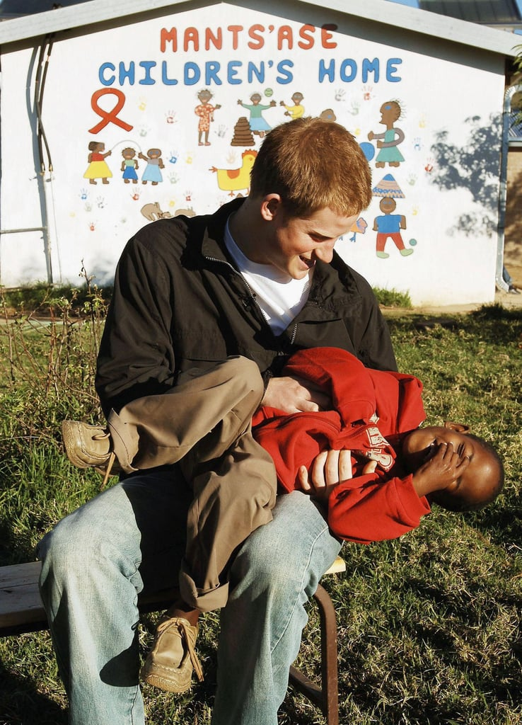 When He Tickled This Little Boy in Africa