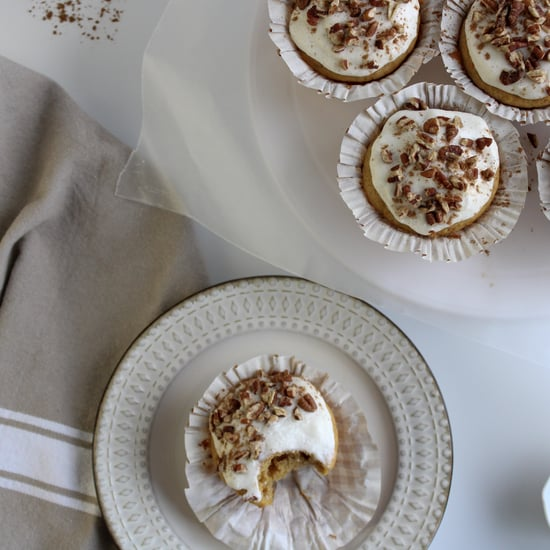 Sweet-Potato Cupcakes With Maple Buttercream Icing Recipe