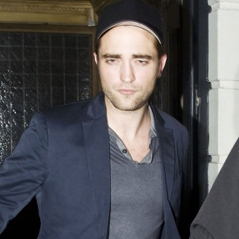 Robert Pattinson Leaving London's Little House Pictures