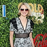 Naomi Watts at the 2020 Gold Meets Golden Party in LA