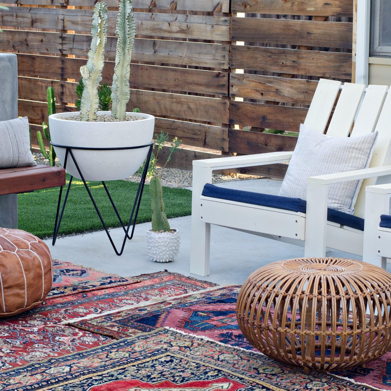 Outdoor Furniture Ideas Photos outdoor decorating ideas for fall | popsugar home