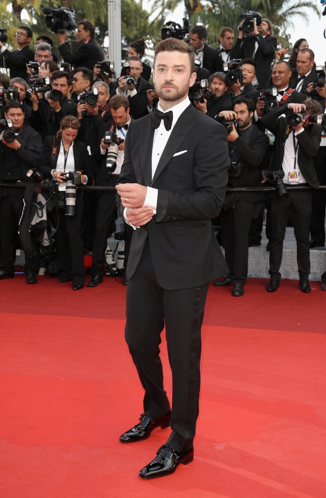 "The Cannes Film Festival is soon to be in full swing, and one celebrity who isn't holding back when it comes to enjoying the spotlight is Justin Timberlake. The singer and actor touched down in the South of France earlier in 2016 and wasted no time getting into the spirit; Justin and his Trolls costar Anna Kendrick kicked off the glamorous festival with a fun (and colorful) photocall, where Justin couldn't help but bust a few moves with some lady trolls on the red carpet. During the event, the pair also hit the stage to perform a beautiful rendition of Cyndi Lauper's ""True Colors"" — and later that evening, Justin slipped into a Tom Ford tuxedo to join Anna for the star-studded opening ceremony. See all of Justin's memorable moments in Cannes so far, then check out the most gorgeous photos from festivals past."