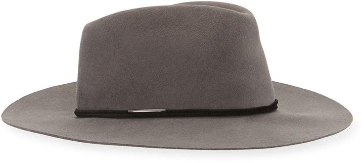 Rag & Bone Range Felt Fedora Hat ($225)