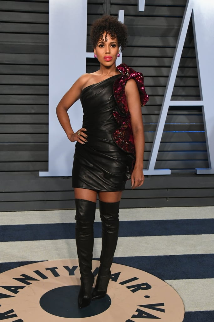 Kerry Washington Dress at Oscars Afterparty 2018