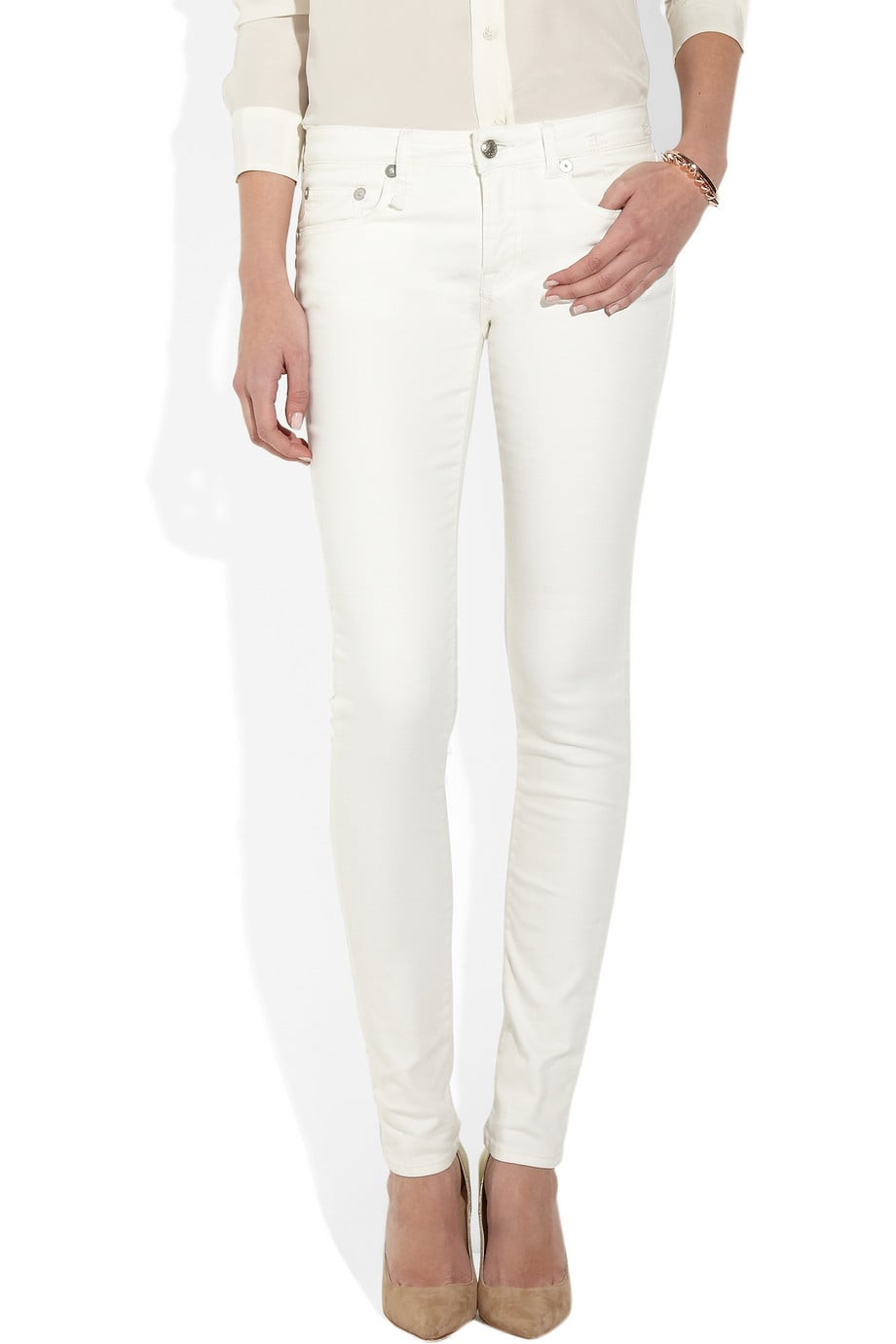 A Pair of White Jeans