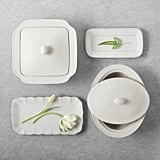 Rectangle Stoneware Serving Trays