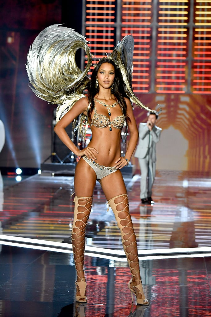 Lais Ribeiro Looked Every Bit Like an Angel Wearing the Victoria's Secret's Fantasy Bra