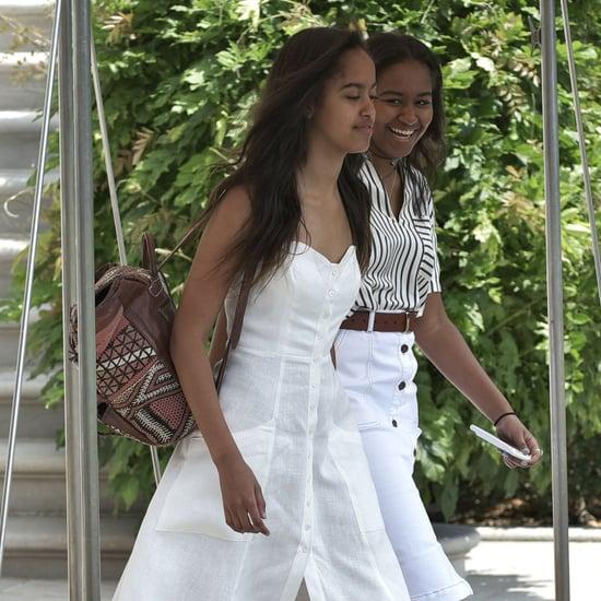 Michelle Obama's Dress on Vacation in Martha's Vineyard 2016