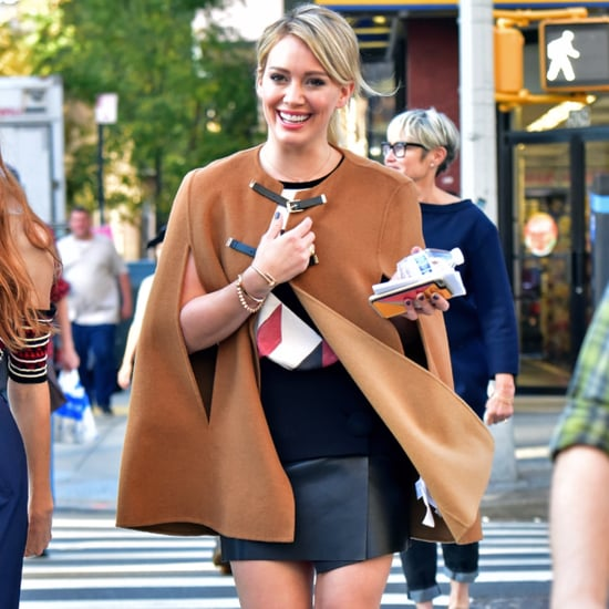 Hilary Duff Out in NYC Pictures October 2015