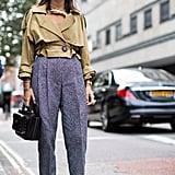 Natasha Goldenberg at London Fashion Week Spring 2017