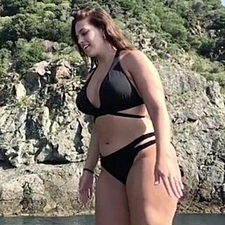 Ashley Graham's Black Cutout Bikini