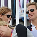 Princess Beatrice took in the Olympics with her boyfriend.
