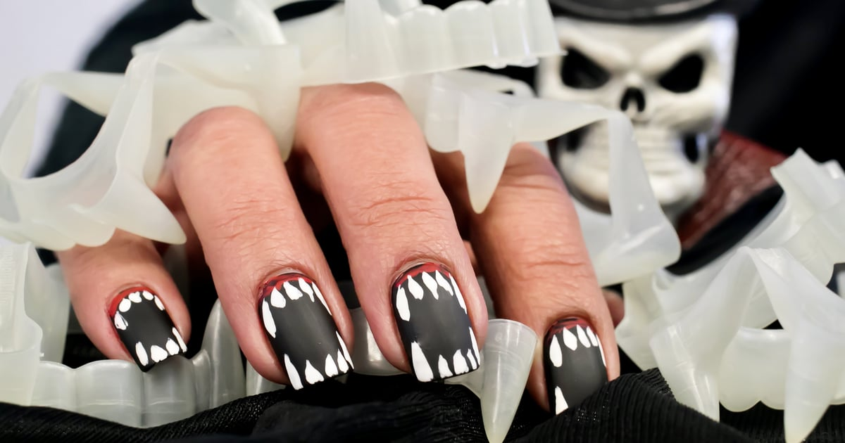 From Candy Corn to Horror Villains, These Halloween Nail-Art Designs Are Spellbinding.jpg