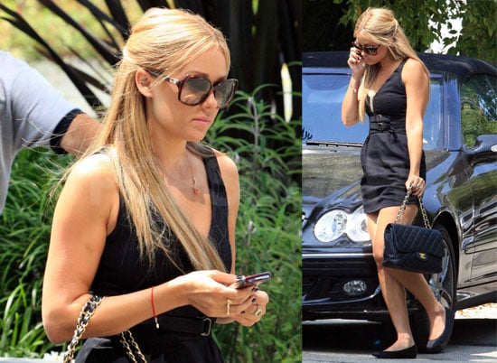 Photos of Lauren Conrad Arriving at CBS Studios in LA