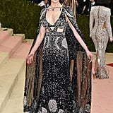 Nicole wearing Alexander McQueen at the 2016 Met Gala.