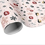 Makeup Christmas Wrapping Paper