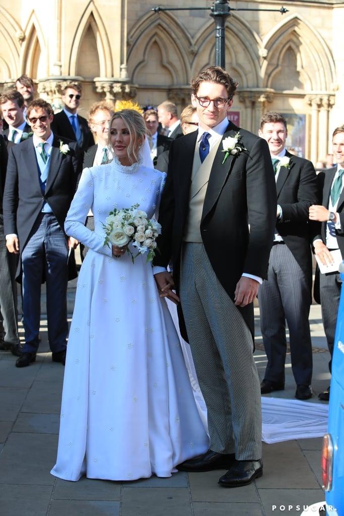Ellie Goulding's Chloé Wedding Dress
