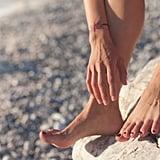 Walk barefoot.