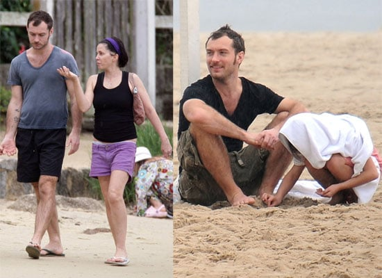 30/12/2008 Jude Law and Sadie Frost