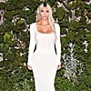 Only Kim Kardashian Can Get Away With Wearing a Sheer, Sexy White Dress Like This