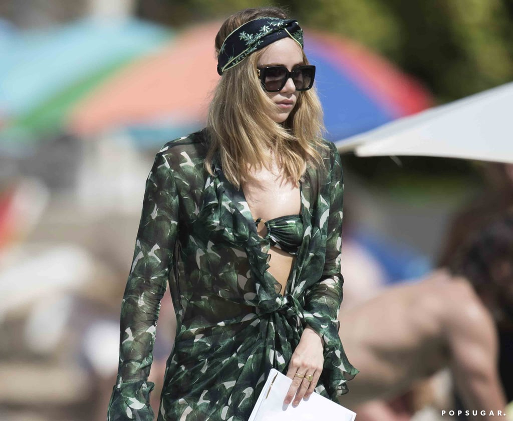 Drop Everything and Check Out Suki Waterhouse's 3-Piece Bikini Set