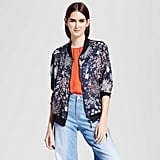 Cliche Printed Bomber Jacket