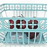 Turquoise Fruit Basket