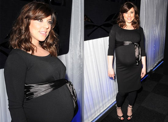 Photos of Pregnant Melanie Chisholm at a Celebration of the Bee Gees in London