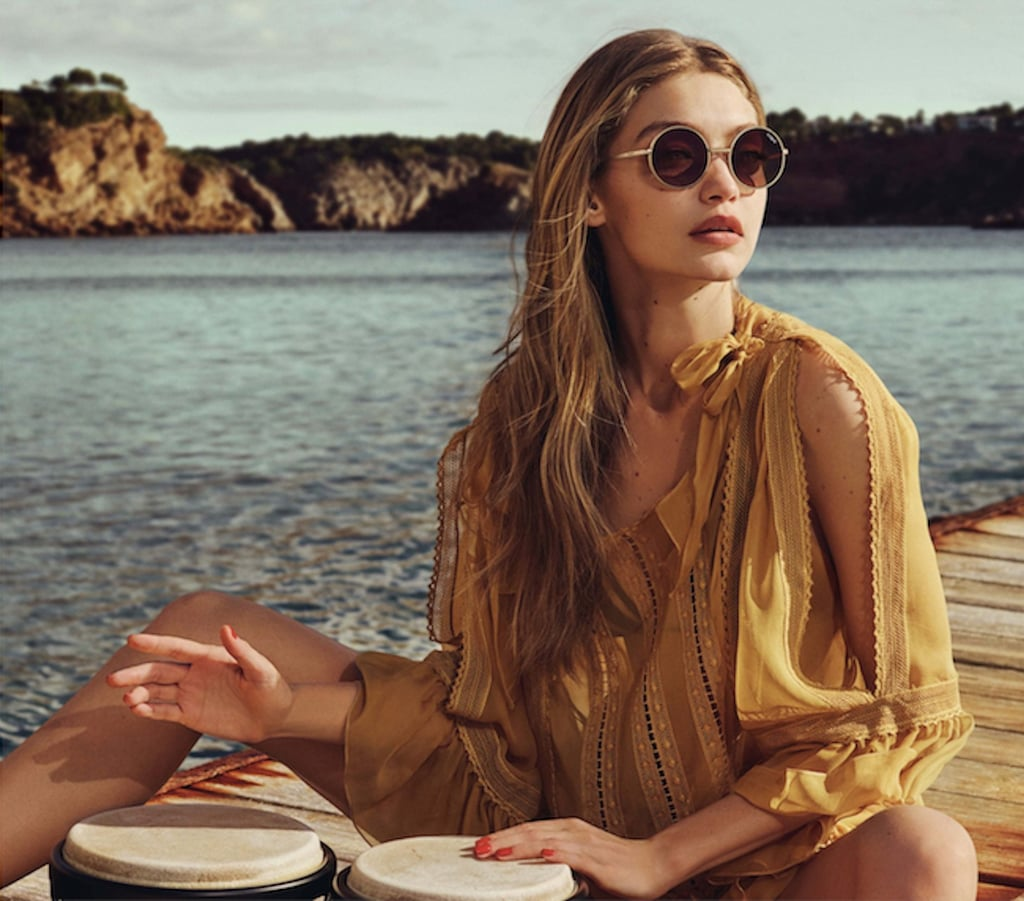 Gigi Hadid For Vogue Eyewear Second Collection