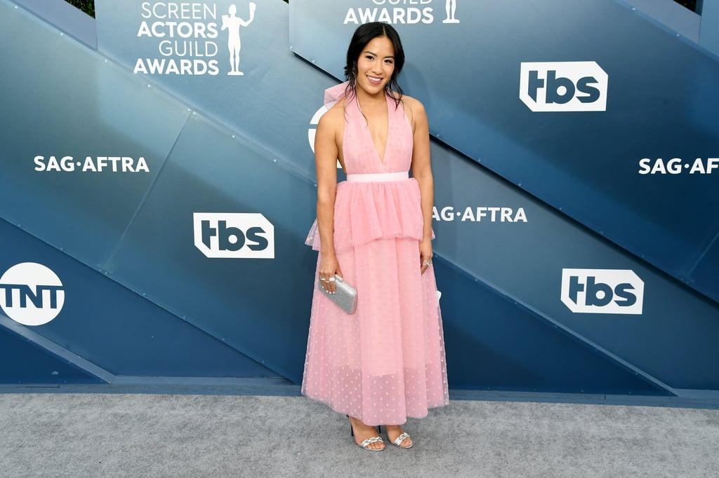 Melissa Tang at the 2020 SAG Awards