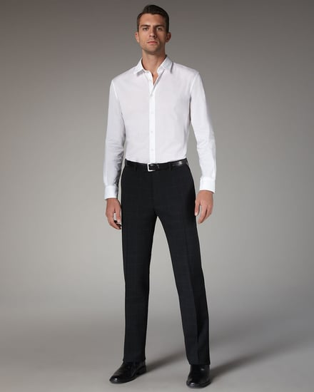 John Varvatos Check Slim Pants