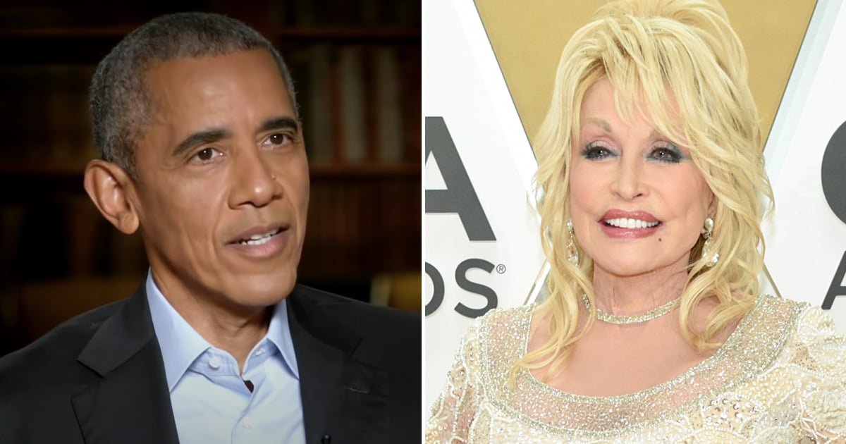 Barack Obama's Big Presidential Regret Comes Down to Dolly Parton and the Medal of Freedom
