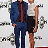 Kellan Lutz brought his girlfriend to see The Book of Mormon.
