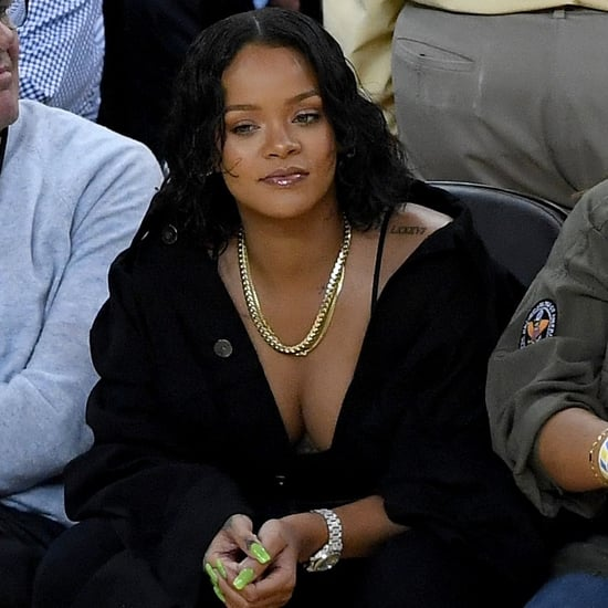 Rihanna and Kevin Durant at NBA Finals 2017